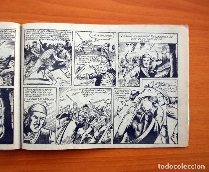 Tebeos: El diablo de los mares - álbum - nº 1 - Ediciones Toray 1949 - Tamaño 17x24 - Foto 5 - 101432659