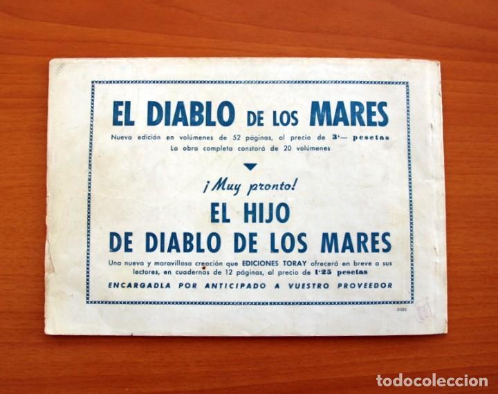 Tebeos: El diablo de los mares - álbum - nº 1 - Ediciones Toray 1949 - Tamaño 17x24 - Foto 7 - 101432659
