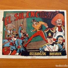 Tebeos: EL SILENCIOSO - Nº 1, ESCARAMUZAS INICIALES - EDICIONES TORAY 1949 - TAMAÑO 17'5X24'5. Lote 101433315