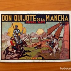 Tebeos: DON QUIJOTE DE LA MANCHA, PRIMERA PARTE - EDITORIAL HISPANO AMERICANA 1941 - TAMAÑO 21X31. Lote 101463407
