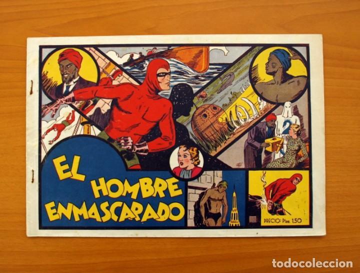 EL HOMBRE ENMASCARADO - Nº 1 - EDITORIAL HISPANO AMERICANA 1941 - TAMAÑO 21X31 (Tebeos y Cómics - Números 1)