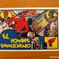 Tebeos: EL HOMBRE ENMASCARADO - Nº 1 - EDITORIAL HISPANO AMERICANA 1941 - TAMAÑO 21X31. Lote 101517631