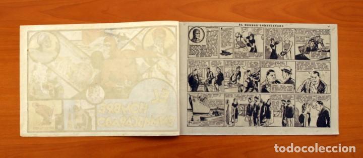 Tebeos: El hombre enmascarado - nº 1 - Editorial Hispano Americana 1941 - Tamaño 21x31 - Foto 2 - 101517631