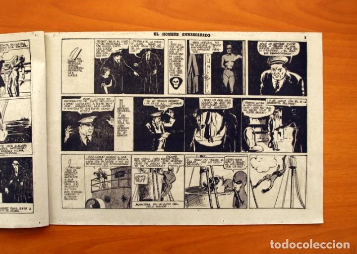 Tebeos: El hombre enmascarado - nº 1 - Editorial Hispano Americana 1941 - Tamaño 21x31 - Foto 3 - 101517631