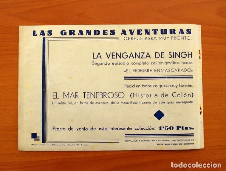 Tebeos: El hombre enmascarado - nº 1 - Editorial Hispano Americana 1941 - Tamaño 21x31 - Foto 7 - 101517631
