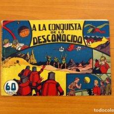 Tebeos: MARÍA CORTÉS Y LA DOCTORA ALDEN, Nº 1, A LA CONQUISTA DE LO DESCONOCIDO - HISPANO AMERICANA 1942 . Lote 101546639