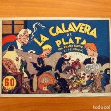 Tebeos: RICARDO BARRIO EL PELIRROJO, Nº 1, LA CALAVERA DE PLATA - HISPANO AMERICANA 1941 - TAMAÑO 17X24'5. Lote 101547427