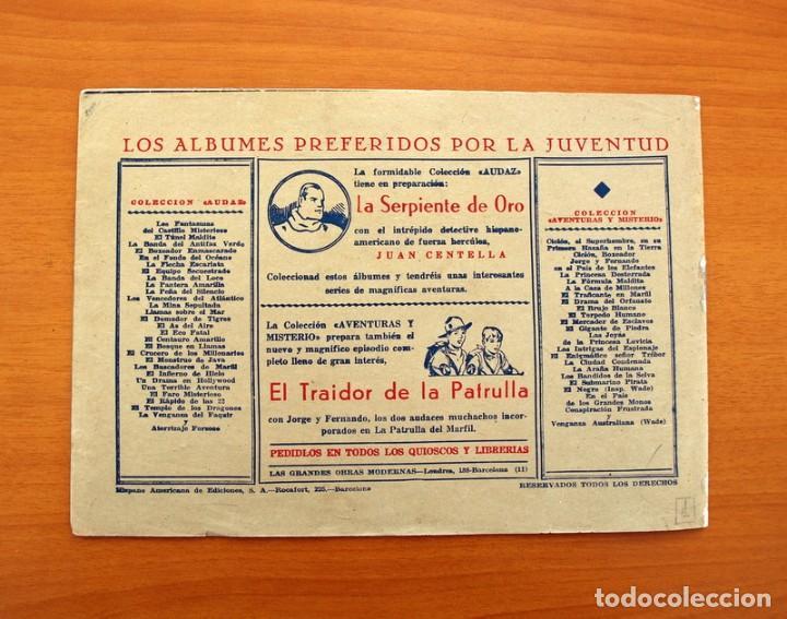Tebeos: Ricardo Barrio el pelirrojo, nº 1, La calavera de plata - Hispano Americana 1941 - Tamaño 17x245 - Foto 7 - 101547427