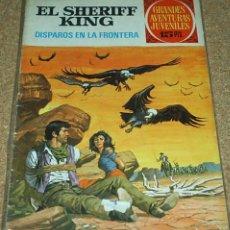 Tebeos: EL SHERIFF KING Nº 1-1ª EDIC. SERIE ROJA BRUGUERA 1971 DE 15 PESETAS - BUEN ESTADO- LEER. Lote 104031675
