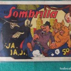 Tebeos: LA SOMBRILLA Nº 1 EDITORIAL VALENCIANA ORIGINAL AÑOS 40. Lote 107878043