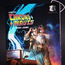 Tebeos: CHRONONAUTS MARK MILLAR GRAPHIC NOVEL VARIANT BACK TO THE FUTURE ZAVVI ZBOX INGLÉS KICK-ASS. Lote 108925791