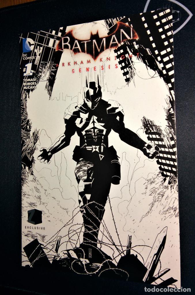 BATMAN ARKHAM KNIGHT GENESIS DC VARIANT EDITION COVER ZAVVI ZBOX EXCLUSIVE EN INGLÉS (Tebeos y Cómics - Números 1)