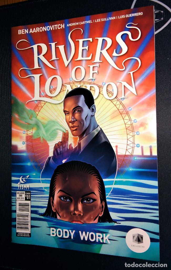 RIVERS OF LONDON BODY WORK VARIANT EDITION ZAVVI ZBOX EXCLUSIVE EN INGLÉS (Tebeos y Cómics - Números 1)