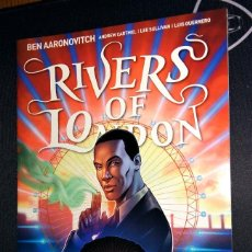 Tebeos: RIVERS OF LONDON BODY WORK VARIANT EDITION ZAVVI ZBOX EXCLUSIVE EN INGLÉS. Lote 108926263