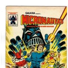 Tebeos: GALAXIA PRESENTA...MICRONAUTAS Nº 1 -VÉRTICE 1981. COLOR. -MUY BUENO-. Lote 109119575