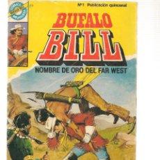 Livros de Banda Desenhada: BUFALO BILL. Nº 1. COMICS BRUGUERA. 1984 (RF.MA)C/7. Lote 109734319