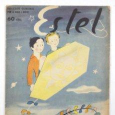 Tebeos: ESTEL - PUBLICACIÓ PER A NOIS I NOIES, ANY 1, NUM. 1. SETEMBRE 1937. DIBUIXOS LOLA ANGLADA. Lote 110240867