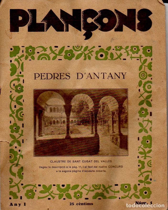 Tebeos: PLAÇONS Nº 1 - 1933 SOLAMENTE LAS DOS CUBIERTAS - Foto 2 - 110574307