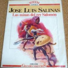 Tebeos: LAS MINAS DEL REY SALOMON -GRANDES MAESTROS Nº 1 - NVA. FRONTERA 1982. Lote 111292047
