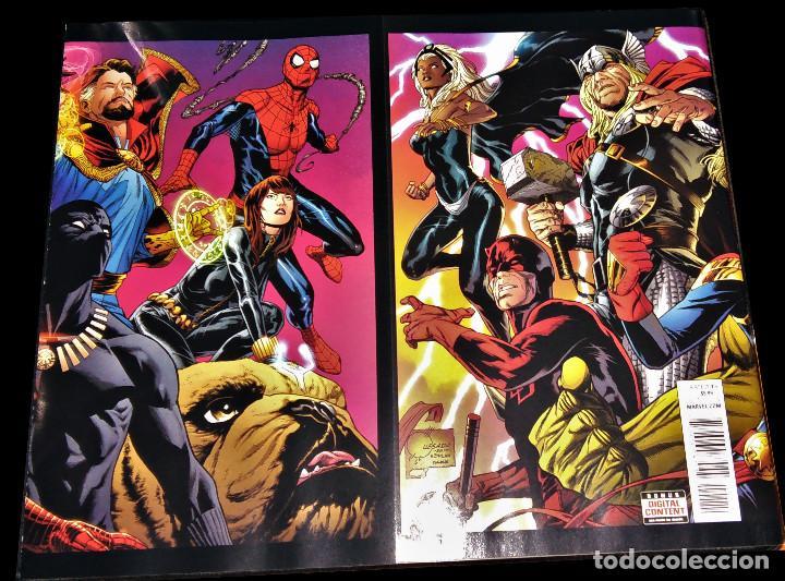 Tebeos: Marvel Legacy #1 2017 Variant Cover Portada desplegable Vengadores Avengers Joe Quesada EN INGLÉS - Foto 3 - 111463459