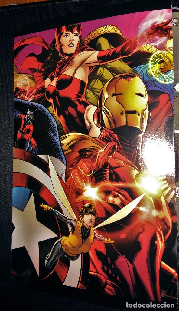 Tebeos: Marvel Legacy #1 2017 Variant Cover Portada desplegable Vengadores Avengers Joe Quesada EN INGLÉS - Foto 6 - 111463459