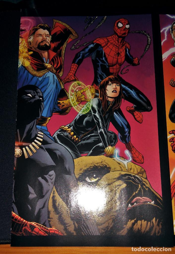 Tebeos: Marvel Legacy #1 2017 Variant Cover Portada desplegable Vengadores Avengers Joe Quesada EN INGLÉS - Foto 7 - 111463459