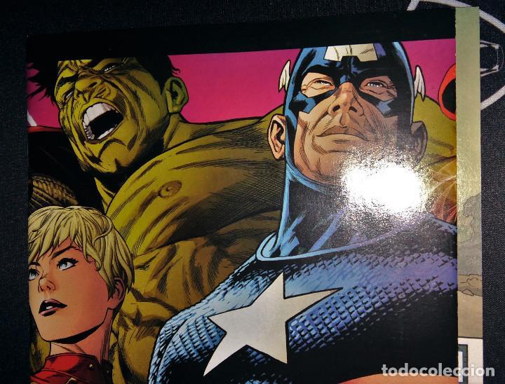 Tebeos: Marvel Legacy #1 2017 Variant Cover Portada desplegable Vengadores Avengers Joe Quesada EN INGLÉS - Foto 8 - 111463459