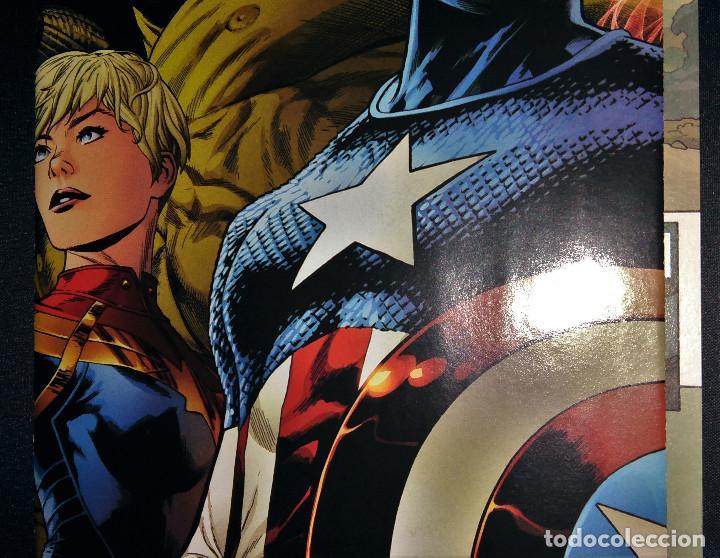 Tebeos: Marvel Legacy #1 2017 Variant Cover Portada desplegable Vengadores Avengers Joe Quesada EN INGLÉS - Foto 9 - 111463459