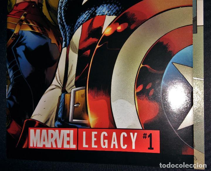 Tebeos: Marvel Legacy #1 2017 Variant Cover Portada desplegable Vengadores Avengers Joe Quesada EN INGLÉS - Foto 10 - 111463459