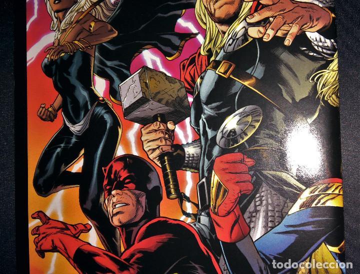 Tebeos: Marvel Legacy #1 2017 Variant Cover Portada desplegable Vengadores Avengers Joe Quesada EN INGLÉS - Foto 12 - 111463459