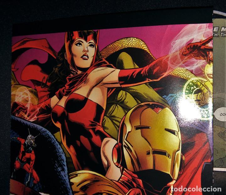 Tebeos: Marvel Legacy #1 2017 Variant Cover Portada desplegable Vengadores Avengers Joe Quesada EN INGLÉS - Foto 14 - 111463459