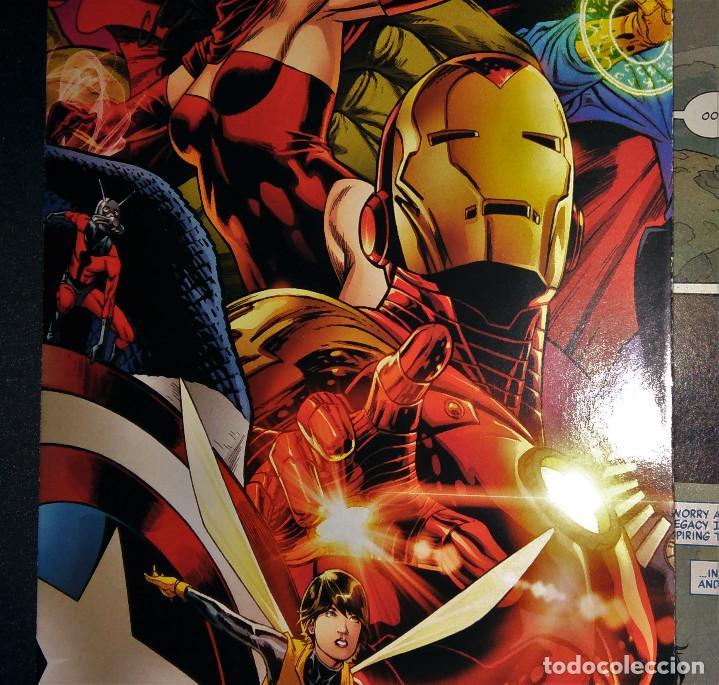 Tebeos: Marvel Legacy #1 2017 Variant Cover Portada desplegable Vengadores Avengers Joe Quesada EN INGLÉS - Foto 15 - 111463459