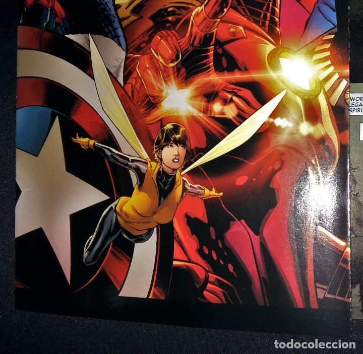 Tebeos: Marvel Legacy #1 2017 Variant Cover Portada desplegable Vengadores Avengers Joe Quesada EN INGLÉS - Foto 16 - 111463459