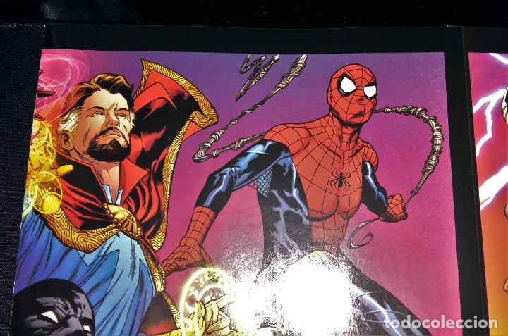 Tebeos: Marvel Legacy #1 2017 Variant Cover Portada desplegable Vengadores Avengers Joe Quesada EN INGLÉS - Foto 17 - 111463459
