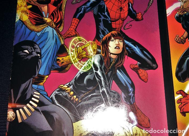 Tebeos: Marvel Legacy #1 2017 Variant Cover Portada desplegable Vengadores Avengers Joe Quesada EN INGLÉS - Foto 18 - 111463459