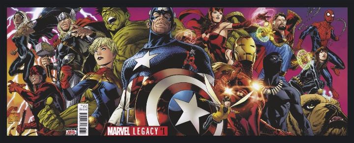Tebeos: Marvel Legacy #1 2017 Variant Cover Portada desplegable Vengadores Avengers Joe Quesada EN INGLÉS - Foto 2 - 111463459