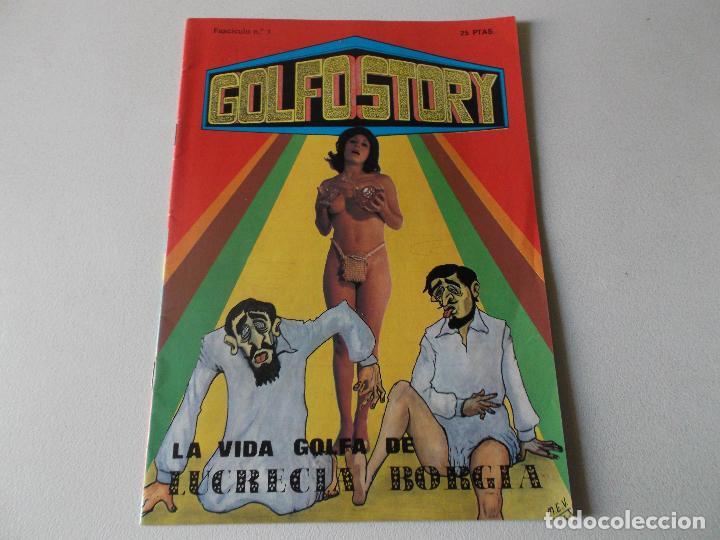 GOLFO STORY LA VIDA GOLFA DE LUCRECIA BORGIA NUMERO 1 -1976 MANUEL RODRIGUEZ , (Tebeos y Cómics - Números 1)