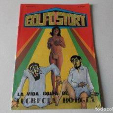 Tebeos: GOLFO STORY LA VIDA GOLFA DE LUCRECIA BORGIA NUMERO 1 -1976 MANUEL RODRIGUEZ ,. Lote 113326039