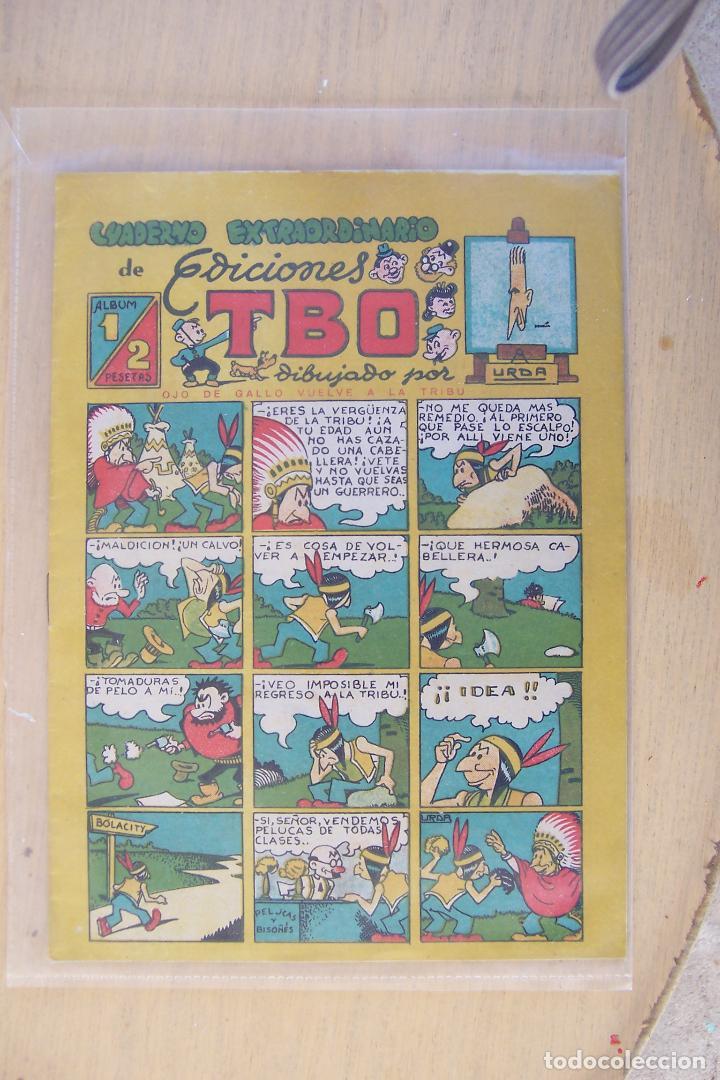 BUIGAS,- CUADERNO EXTRAORDINARIO TBO, ÁLBUM Nº1 DE URDA (Tebeos y Cómics - Números 1)