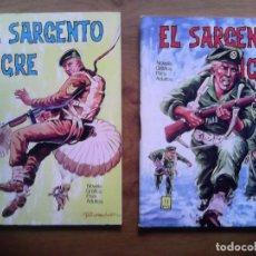 Tebeos: EL SARGENTO TIGRE. EDICIONES VILAR. NÚMEROS 1 Y 4 . Lote 113570107