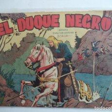 Tebeos: EL DUQUE NEGRO.Nº 1 ORIGINAL MAGA. Lote 114262679
