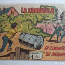 Tebeos: LA CUADRILLA Nº 1.ORIGINAL.MAGA. Lote 114263443