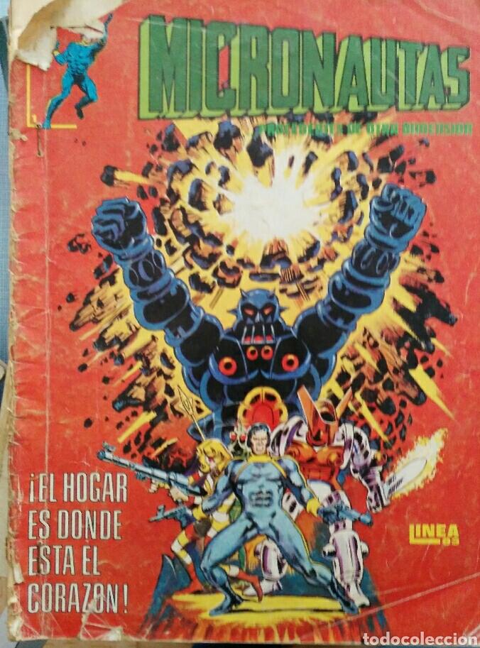 MICRONAUTAS N°1 (Tebeos y Cómics - Números 1)