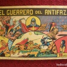 Tebeos: Nº1 DE EL GURRERO DEL ANTIFAZ DE 1943. EDITORIAL VALENCIANA. Lote 115372335