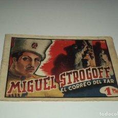 Tebeos: HISTORIETAS GRÁFICAS, Nº 1. MIGUEL STROGOFF. MUY DIFICIL ORIGINAL AÑO 1.942. AMELLER EDITOR.. Lote 116210623