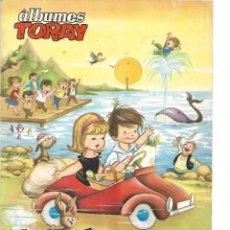 Tebeos: ÁLBUMES TORAY, AÑO 1.961. Nº 1. VACACIONES FELICES Y Nº 7. EL PASTEL DE CUMPLEAÑOS SON 2. ORIGINALES. Lote 116304963