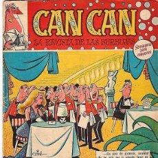Giornalini: CAN CAN - 1958 - BRUGUERA - Nº 0. Lote 116427775