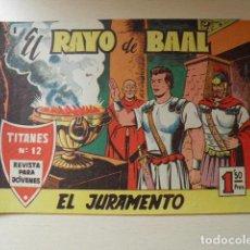 Tebeos: EL RAYO DE BAAL. Lote 116925935