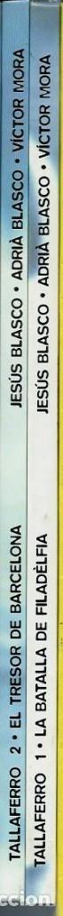 Tebeos: VICTOR MORA i JESUS BLASCO - TALLAFERRO Nº 1 - LA BATALLA DE FILADELFIA - OIKOS TAU 1996 - molt NOU - Foto 2 - 118203219