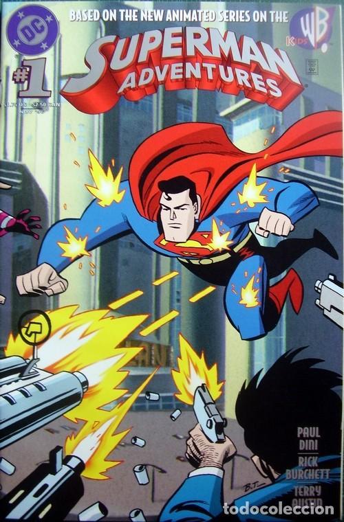 SUPERMAN ADVENTURES NUMBER 1 ORIGINAL AMERICAN ISSUE (Tebeos y Cómics - Números 1)
